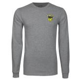 Grey Long Sleeve T Shirt-TMCC Athletics