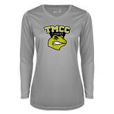 Ladies Syntrel Performance Platinum Longsleeve Shirt-TMCC Athletics