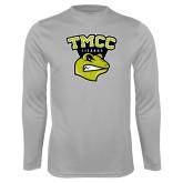 Performance Platinum Longsleeve Shirt-TMCC Athletics