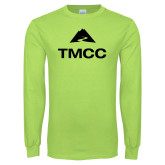 Lime Green Long Sleeve T Shirt-TMCC Stacked