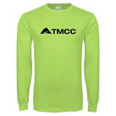 Lime Green Long Sleeve T Shirt-TMCC Horizontal