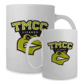 Full Color White Mug 15oz-TMCC Athletics