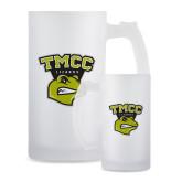 Full Color Decorative Frosted Glass Mug 16oz-TMCC Athletics