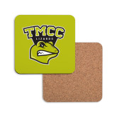 Hardboard Coaster w/Cork Backing-TMCC Athletics