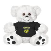 Plush Big Paw 8 1/2 inch White Bear w/Black Shirt-TMCC Athletics
