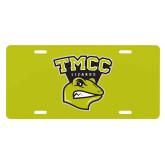 License Plate-TMCC Athletics