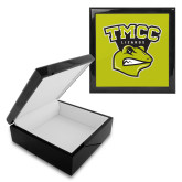Ebony Black Accessory Box With 6 x 6 Tile-TMCC Athletics