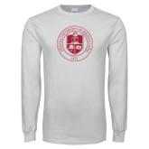 White Long Sleeve T Shirt-Seal