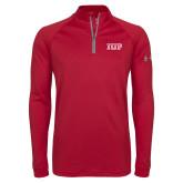 Under Armour Cardinal Tech 1/4 Zip Performance Shirt-IUP Logo