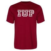 Performance Cardinal Tee-IUP Logo