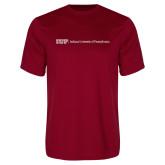 Performance Cardinal Tee-IUP Logo Wordmark