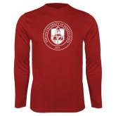 Performance Cardinal Longsleeve Shirt-Seal