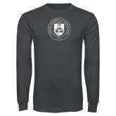 Charcoal Long Sleeve T Shirt-Seal