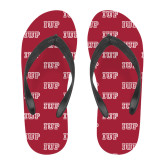 Full Color Flip Flops-IUP Logo