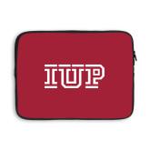 13 inch Neoprene Laptop Sleeve-IUP Logo