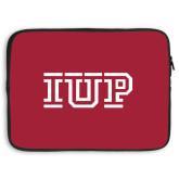 15 inch Neoprene Laptop Sleeve-IUP Logo