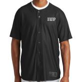 New Era Black Diamond Era Jersey-IUP Logo