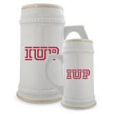 Full Color Decorative Ceramic Mug 22oz-IUP Logo