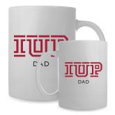 Dad Full Color White Mug 15oz-Dad