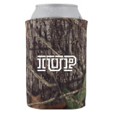 Collapsible Camo Can Holder-IUP Logo
