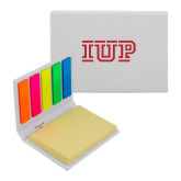 Micro Sticky Book-IUP Logo