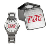 Mens Stainless Steel Fashion Watch-IUP Logo