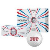 Callaway Supersoft Golf Balls 12/pkg-IUP Logo