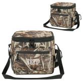 Big Buck Camo Sport Cooler-IUP Logo