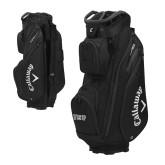 Callaway Org 14 Black Cart Bag-IUP Logo