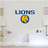 2 ft x 3 ft Fan WallSkinz-Stacked Lions with Head