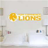 2 ft x 6 ft Fan WallSkinz-Flat A&M Commerce Lions