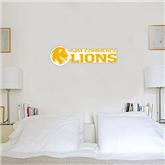6 in x 2 ft Fan WallSkinz-Flat A&M Commerce Lions