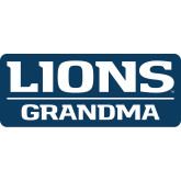 Small Decal-Lions Grandma, 6 inches wide