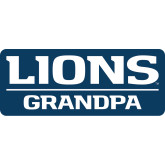 Small Decal-Lions Grandpa, 6 inches wide