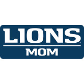 Mom Decal-Lions Mom, 6 inches wide