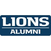 Alumni Decal-Lions Alumni, 6 inches wide