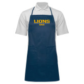 Full Length Navy Apron-Lions Dad