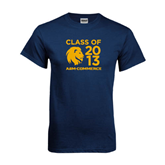 Navy T Shirt-Stacked Class Of Design