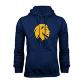 Navy Fleece Hoodie-Official Logo