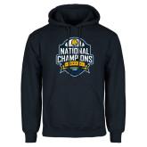 Navy Fleece Hoodie-2017 National Champions