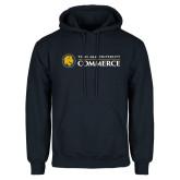 Navy Fleece Hoodie-Texas A&M University Commerce
