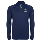 Under Armour Navy Tech 1/4 Zip Performance Shirt-Mascot AM Commerce