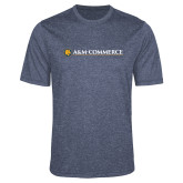 Performance Navy Heather Contender Tee-AM Commerce