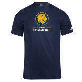 Russell Core Performance Navy Tee-Mascot AM Commerce