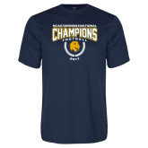 Syntrel Performance Navy Tee-2017 National Football Champions