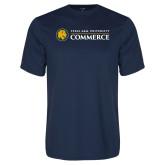 Performance Navy Tee-Texas A&M University Commerce
