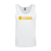 White Tank Top-Flat A&M Commerce Lions