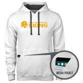 Contemporary Sofspun White Hoodie-Flat A&M Commerce Lions