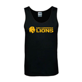 Black Tank Top-Flat A&M Commerce Lions