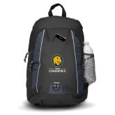 Impulse Black Backpack-Mascot AM Commerce